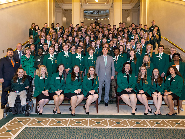4-hers at the capitol